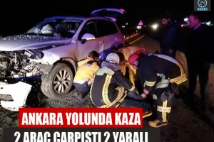 Denizli'de kaza 2 yaralı