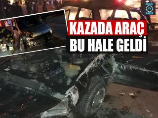 Denizli'de trafik kazası: 1'i ağır 2 yaralı