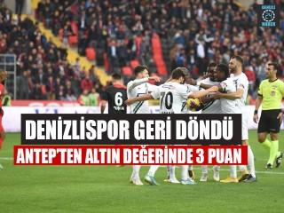 Gaziantep Denizlispor maç sonucu 1 - 2