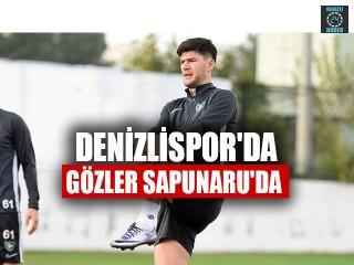 Denizlispor'da Gözler Sapunaru'da