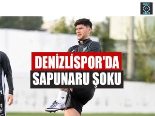 Denizlispor'da Sapunaru Şoku
