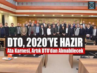 DTO, 2020'ye Hazır Ata Karnesi, Artık DTO'dan Alınabilecek