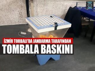 İzmir Torbalı'da Jandarma Tarafından Tombala Baskını
