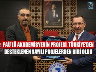 PAÜ'lü Akademisyenin Projesi, Türkiye'den Desteklenen Sayılı Projelerden Biri Oldu