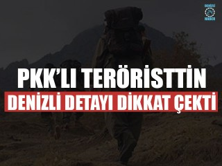 PKK'lı Teröristtin Denizli Detayı Dikkat Çekti