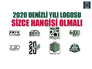 Denizli 2020 logosunu sen seç