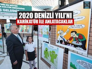 2020 Denizli Yılı'nı Karikatür İle Anlatacaklar
