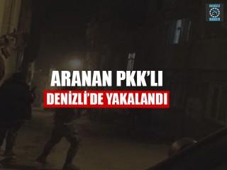 Aranan PKK'lı Denizli'de yakalandı