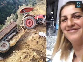 Aydın Bozdoğan'da Berna Çürükoğlu Traktörden Düşerek Hayatını Kaybetti