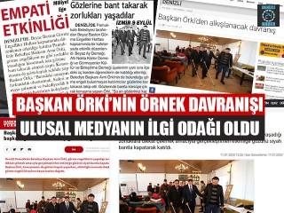 Başkan Avni Örki'nin Örnek Davranışı Ulusal Medyanın İlgi Odağı Oldu