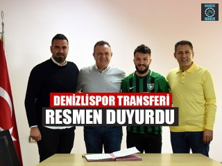 Denizlispor Transferi Resmen Duyurdu