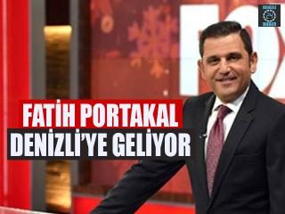Fatih Portakal Denizli'ye Geliyor