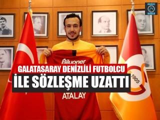 Galatasaray Denizlili Futbolcu İle Sözleşme Uzattı