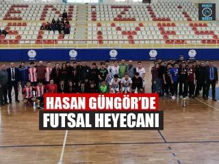 Hasan Güngör'de Futsal Heyecanı