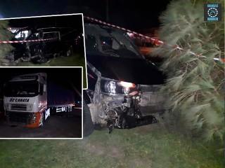 İzmir Aliağa'da Tırla minibüsün çarpışması sonucu Şaban Bozkurt hayatını kaybetti