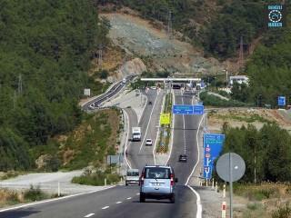 Muğla-Antalya karayolu üzerindeki Göcek Tüneli'ne zam geldi