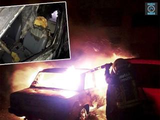 Muğla Fethiye'de Mümin Varol aracın içinde yanarak can verdi