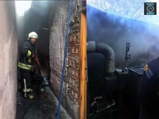 Muğla Menteşe'deki kazan dairesindeki yangın korkuttu