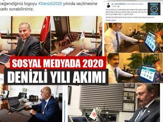 Sosyal Medyada 2020 Denizli Yılı Akımı