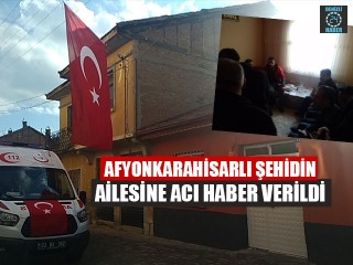 Afyonkarahisarlı Süleyman Şahin idlib'te şehit düştü