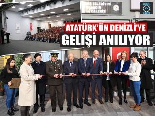 Atatürk'ün Denizli'ye Gelişi Anılıyor