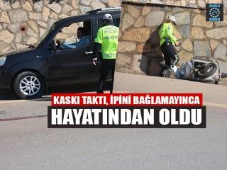 Bodrum'daki kazada motosiklet sürücüsü Mehmet Halil Çırakoğlu öldü