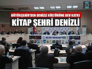 Denizli Büyükşehir Belediyesi Kültür Yayınları 171'e ulaştı