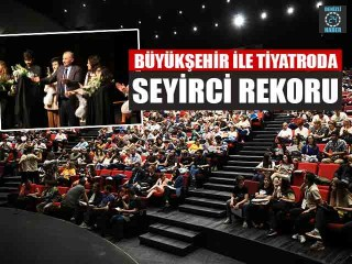 Denizli'de 2019 yılında 153 bin 837 kişi tiyatro oyunu izledi
