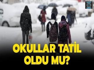 Denizli'de okullar tatil mi? Denizli hangi okullar tatil?7 Şubat 2020 okullar tatil mi?