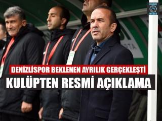Denizlispor Teknik Direktörü Mehmet Özdilek ile yollar ayrıldı