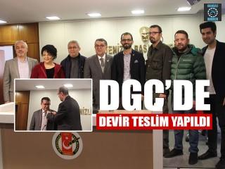 DGC'de Devir Teslim Yapıldı
