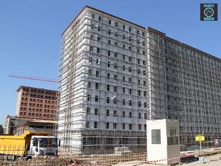 İzmir Bornova'da Yurt inşaatında çalışan Caner Mızrak 10. kattan düşerek öldü