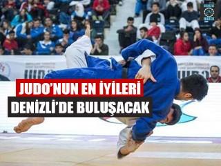 Judo'nun En İyileri Denizli'de Buluşacak