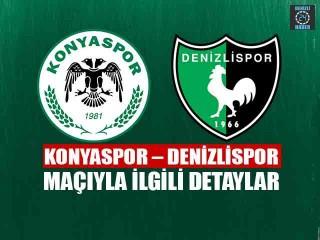 Konyaspor - Denizlispor maçı ne zaman hangi kanalda?