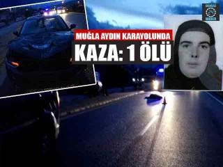 Muğla Yatağan'da Fatma Zafer Aracın Çarpması Sonucu Hayatını Kaybetti