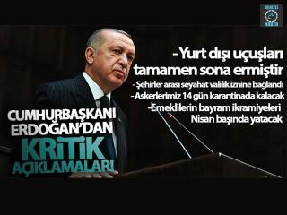 Cumhurbaşkanı Erdoğan'dan kritik açıklamalar!