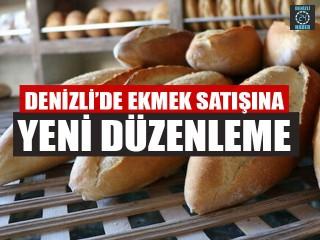 Denizli'de Ekmek Satışına Yeni Düzenleme Pazara Ve Açıkta Satışa Yasak Geldi