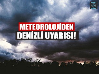 Meteoroloji'den Denizli açıklaması! (1 Nisan 2020 Denizli'de hava durumu nasıl?)
