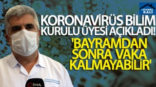 GÜNDEM Koronavirüs Bilim Kurulu Üyesi Prof. Dr. İlhami Çelik: 'Bayramdan sonra vaka kalmayabilir'