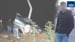 Kütahya Hisarcık'taki kazada İdris Katıran hayatını kaybetti