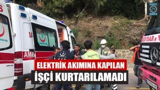 Muğla Marmaris'te Elektrik Akımına Kapılan İşçi Öldü