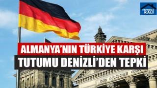 Almanya'nın Türkiye Karşı Tutumu Denizli'den Tepki