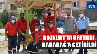 Bozkurt'ta Üretildi, Babadağ'a Getirildi