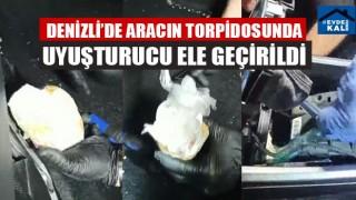 Denizli'de Aracın Torpidosunda Uyuşturucu Ele Geçirildi