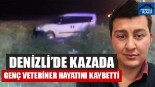 Çardak'ta Kazada Genç Veteriner Oğuz Kaan Demiröz Hayatını Kaybetti