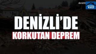 Manisa'daki Deprem Denizli'de de hissedildi