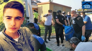 Marmaris'te Batuhan Kaan Gül'ün üzerine su deposu düştü