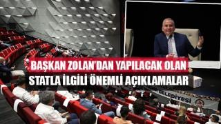 Başkan Zolan'dan Yapılacak Olan Statla İlgili Önemli Açıklamalar