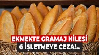 Denizli'de ekmekte gramaj sahtekarlığı