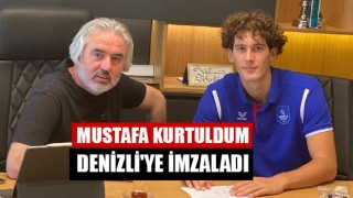 Mustafa Kurtuldum Denizli'ye İmzaladı